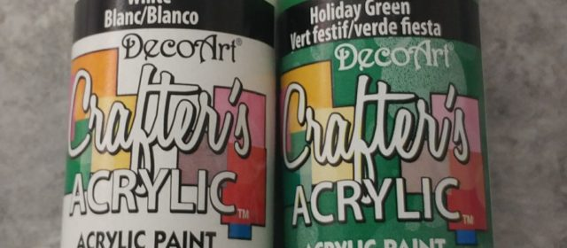 2oz bottle Acrylic Craft Paints